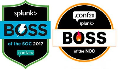 Consist ist Gewinner des Boss of the NOC 2020 und des Boss of the Soc 2017 von Splunk